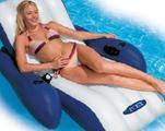 Плавающее кресло - шезлонг с подстаканниками