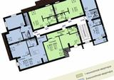 1-комнатная квартира, 36 кв.м., 3/4 этаж, новостройка