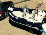 Надувная лодка Mercury Риб 400 Luxe с консолью